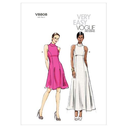 (Vogue Patterns V8808E50 V8808 Misses/Misses Petite Dress, Size E5 (14-16-18-20-22))