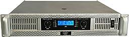 Pyle-Pro PEXA8000 19\'\' Rack Mount 8000 Watts Professional Power Amplifier w/ Digital SMT Technology
