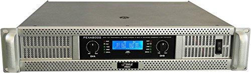 Pyle-Pro PEXA8000 19'' Rack Mount 8000 Watts Professional Power Amplifier w/ Digital SMT Technology Professional Power Amp