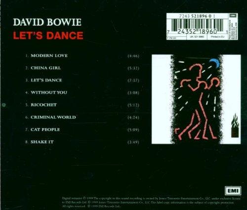 David Bowie Let S Dance Ecd Amazon Com Music