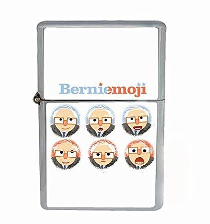 Amazon com: Bernie Emoji Sanders Flip Top Oil Lighter R1