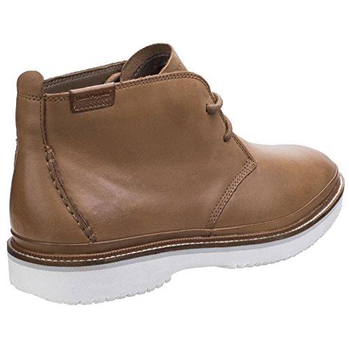 Hush Mens Cushioned Fredd Puppies Up Tan Bernard Leather Chukka Boots Lace 44SqARrw