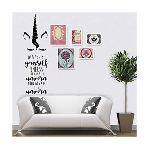 Unicorn Wall Sticker Bedroom Decal Kids Room Wall Decoration for Girls 6