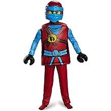 NYA Deluxe Ninjago Lego Costume, Medium/7-8