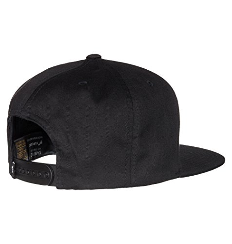 DC Men's Snappy Trucker Hat, Black 2016, One Size by DC (Image #2)