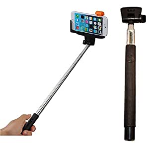go ez selfie stick model z07 5 wireless mobile phone monopod with wireless built. Black Bedroom Furniture Sets. Home Design Ideas