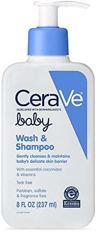 Baby Shampoo: CeraVe Baby Wash & Shampoo