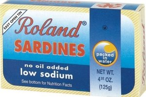Sardines in Water (Low Sodium) - 4oz (Pack of 1)