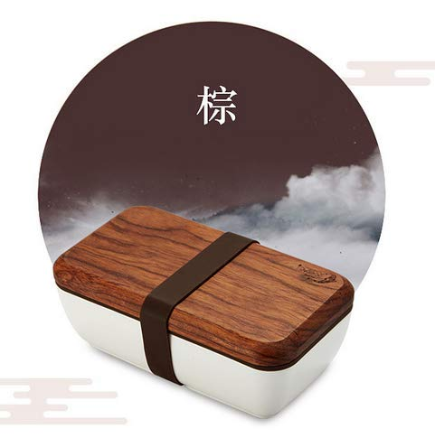 YHCIDNJ Caja Bento Japonesa,Caja De Almuerzo De Cerámica ...