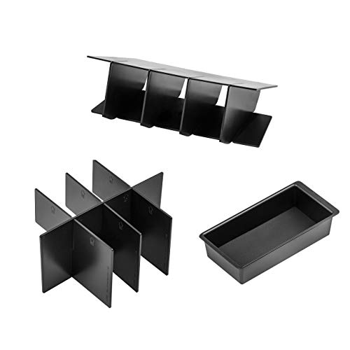 Vehicle OCD - Center Console Divider, Tray, and Glove Box Organizer for Toyota Tacoma (2005-2015) - Made in USA