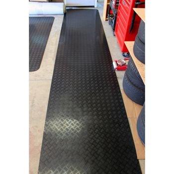 Buy garage floor mat for lawn mower