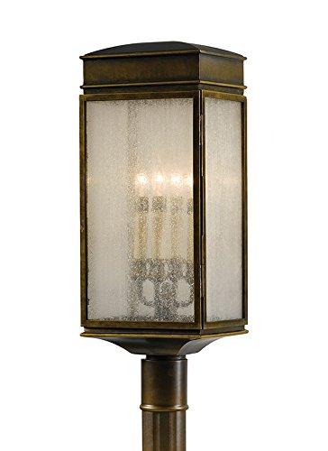 Feiss OL7407ASTB 4-Bulb Outdoor Wall Lantern, Astral Bronze Finish
