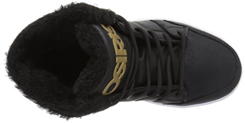 buy cheap pick a best quality free shipping for sale Osiris Convoy Mid SHR Skate Shoe Black/Gold c3xwq3K