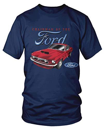 Amdesco Men's Chariman of The Ford T-Shirt, Navy Blue 3XL