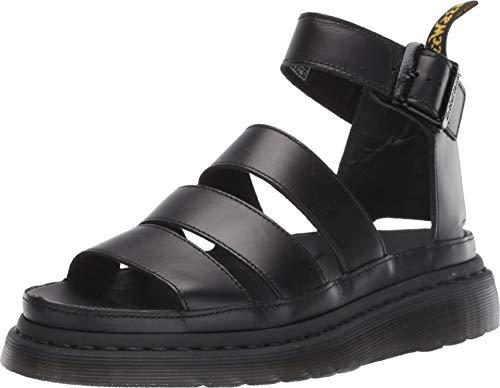 Dr. Martens Womens Clarissa II Platform Strappy Cut Out Open Toe Sandals - Black - 10