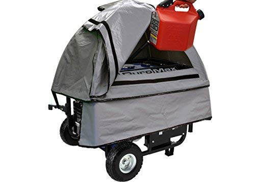 GenTent 10k Generator Tent Running Cover - Universal Kit (Standard, GreySkies) - Compatible with 3000w-10000w Portable Generators by GenTent Safety Canopies (Image #4)