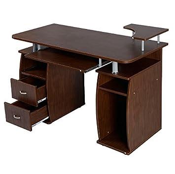 Amazon.com: computadora para computadora con estante de ...