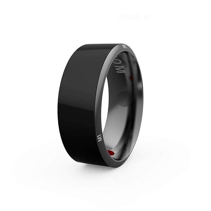 JoyFan Multifonction NFC Smart Ring /Étanche Intelligent Magic Smart Ring Bague Universelle Usure