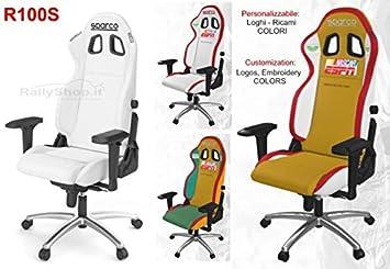 Sparco S00975SP Silla Oficina/Gaming R100S Special: Amazon.es: Coche y moto