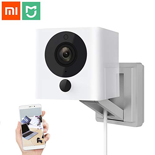 Xiaomi Mijia Xiaofang 1080p HD Indoor Wireless Smart Home Camera, IP WiFi Wireless Camaras with Night Vision, 2-Way Audio,110 Degree F2.0 8X 1080P Digital Zoom Smart Camera for Home Security