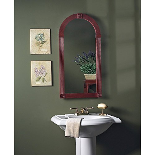 Broan-NuTone 830C Baker Street Recessed Medicine Cabinet with Cherry Wood Frame