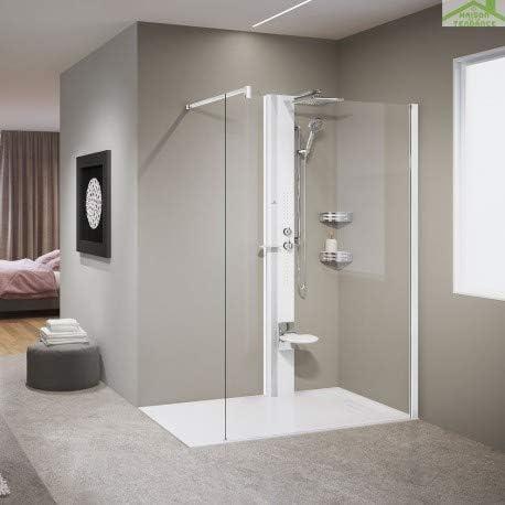 Novellini - Columna de Ducha mecánica o termostática Line 1,215 cm ...