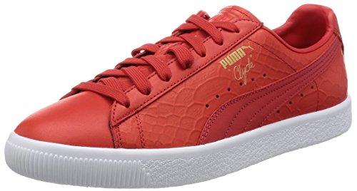 Puma Clyde Dressed Calzado Rojo