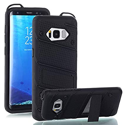 Otipacase iPhone 6 / iPhone 6S Case, Shockproof, Anti-Drop, Dual Layer Heavy Duty Protective Case with Kickstand, Compatible with Apple iPhone 6 / iPhone 6S - Black
