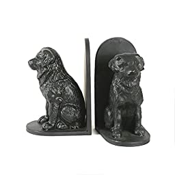 Creative Co-Op Cast Iron Dog Bookends