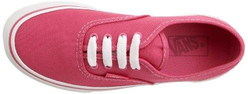 Authentic mode T Carmine mixte Baskets Rose bébé Rose Vans 4t5xq