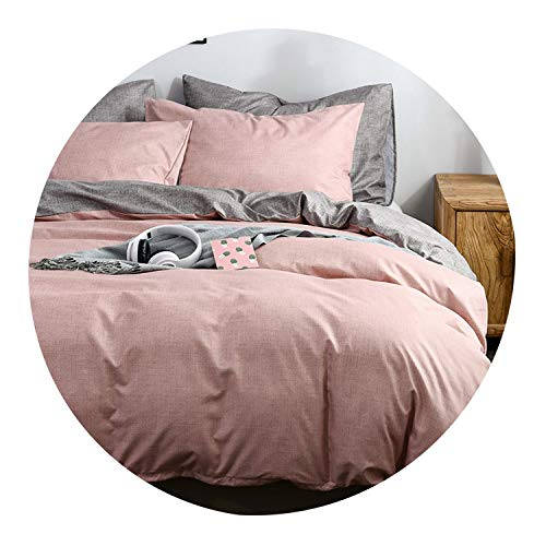 King Bed Quilt Cover Queen Size Bedding Covers Adult Kids Bed Single for Children Double Bedding Sets with Pillowcase,01,AU-Single