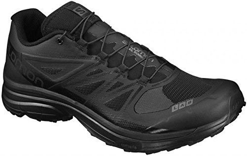 Salomon Men's S-Labings 8 Running Shoes - 391999 (Black/Black/Atob - 11) by Salomon