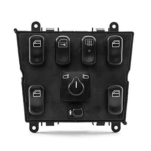 SUNROAD Electric Power Window Lifter Mirror Master Control Console Switch for Mercedes-Benz 1998 1999 2000 2001 2002 2003 ML320 & 1999-2001 ML430 & 2002-2003 ML500 & 2000-2003 ML55 ()