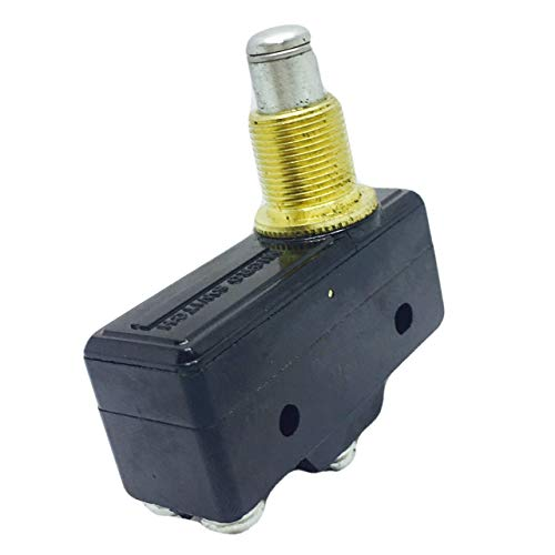 BZ-7YQ1T1 Switch Snap Action N.O./N.C. SPDT High Overtravel Plunger Screw 5A 250VAC 8.34N Panel Mount