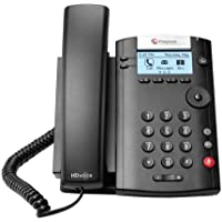 Polycom VVX 201 (2200-40450-025) Two-Line PoE Corded Business Media Phone
