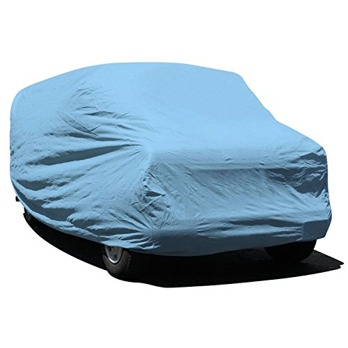 Budge Duro Van Cover Fits Standard Mini-Vans up to 18 feet, VD-1 - (Polypropylene, Blue)