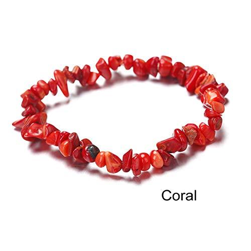 (Natural Stone Bracelets for Women Rope Chain Bracelet Handmade Quartz Jewelry for Women 14)