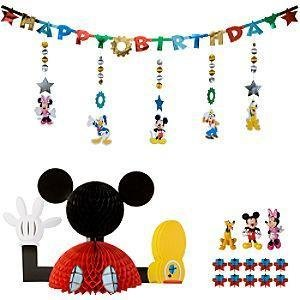 MICKEY MOUSE CLUBHOUSE RIESEN PARTY DEKORATION Disney Store ...