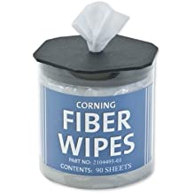 Corning Fiber Optic Cleaning Wipes 2104493-01 FCC-WIPES