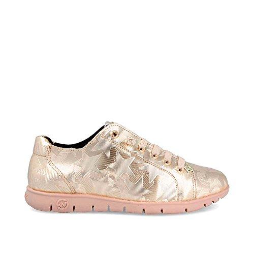 Slowwalk Teemo Star Sneaker Oro w Zapatilla Mujer 4anwqSP