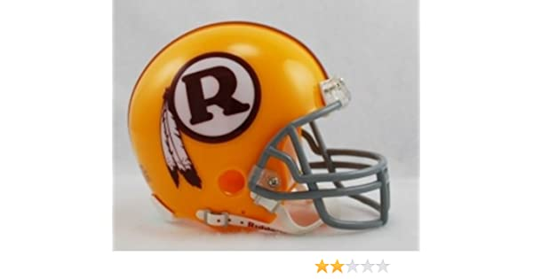 Amazon.com   Riddell Washington Redskins Mini Replica Throwback Helmet - WASHINGTON  REDSKINS BURG One Size   Sports Related Collectible Mini Helmets ... dc4e7ed45