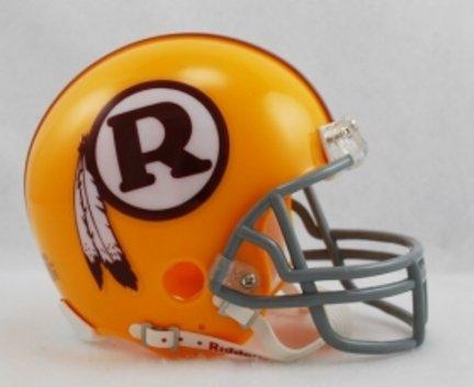 Riddell Washington Redskins Mini Replica Throwback Helmet - WASHINGTON REDSKINS BURG One Size (Helmet Nationals Mini Riddell Washington)