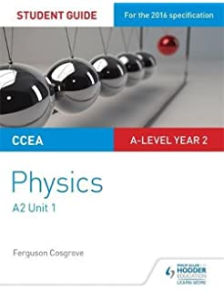 Physics revision guide for ccea a2 level amazon pat carson ccea a2 unit 1 physics student guide deformation of solids thermal physics circular urtaz Image collections