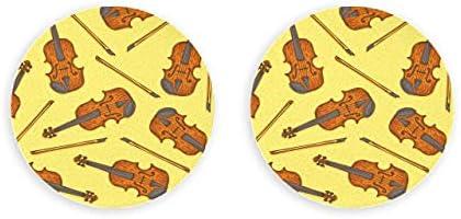 Vector transparente de madera violín abridor de botellas de violín 2 piezas abridor de botellas de cerveza imanes de nevera