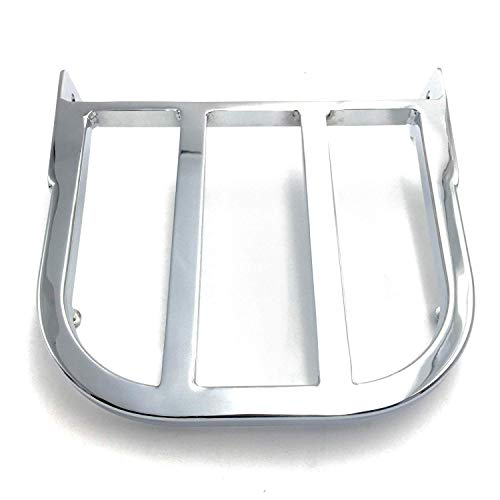 Motorcycle Chrome Sissy Bar Luggage Rack For 1997-2007 Suzuki Marauder VZ800/ 2005-2009 Suzuki Boulevard C50/C90 /2012-2013 Suzuki Boulevard C50/M50 ()