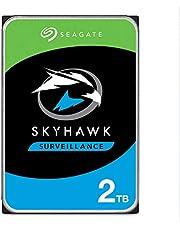 Seagate SkyHawk 2TB Surveillance Internal Hard Drive HDD – 3.5 Inch SATA 6Gb/s 64MB Cache + Drive Health Management & 3-Year Rescue Service– (ST2000VX008)