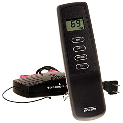 Skytech 9800329 SKY-1410TH Fireplace Remote Control with Thermostat