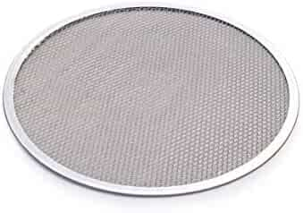 New Star Foodservice 50967 Pizza / Baking Screen, Seamless, Commercial Grade, Aluminum, 14 inch, Pack of 6