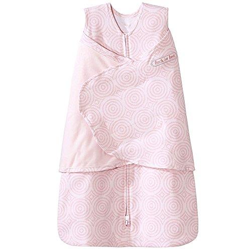 Halo Sleepsack 100% Cotton Swaddle, Ikat Circle Pink, Newborn by Halo