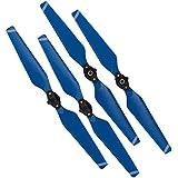 DJI Mavic Pro & Platinum Set of 4 Quick Release Folding Propellers OEM Style Change (Blue)
